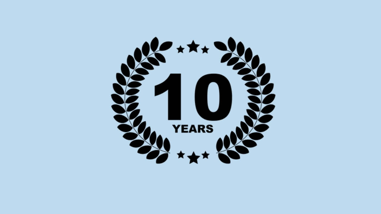 10 lat!